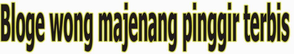 Bloge wong majenang kidul