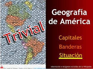 TRIVIAL, GEOGRAFÍA DE AMÉRICA