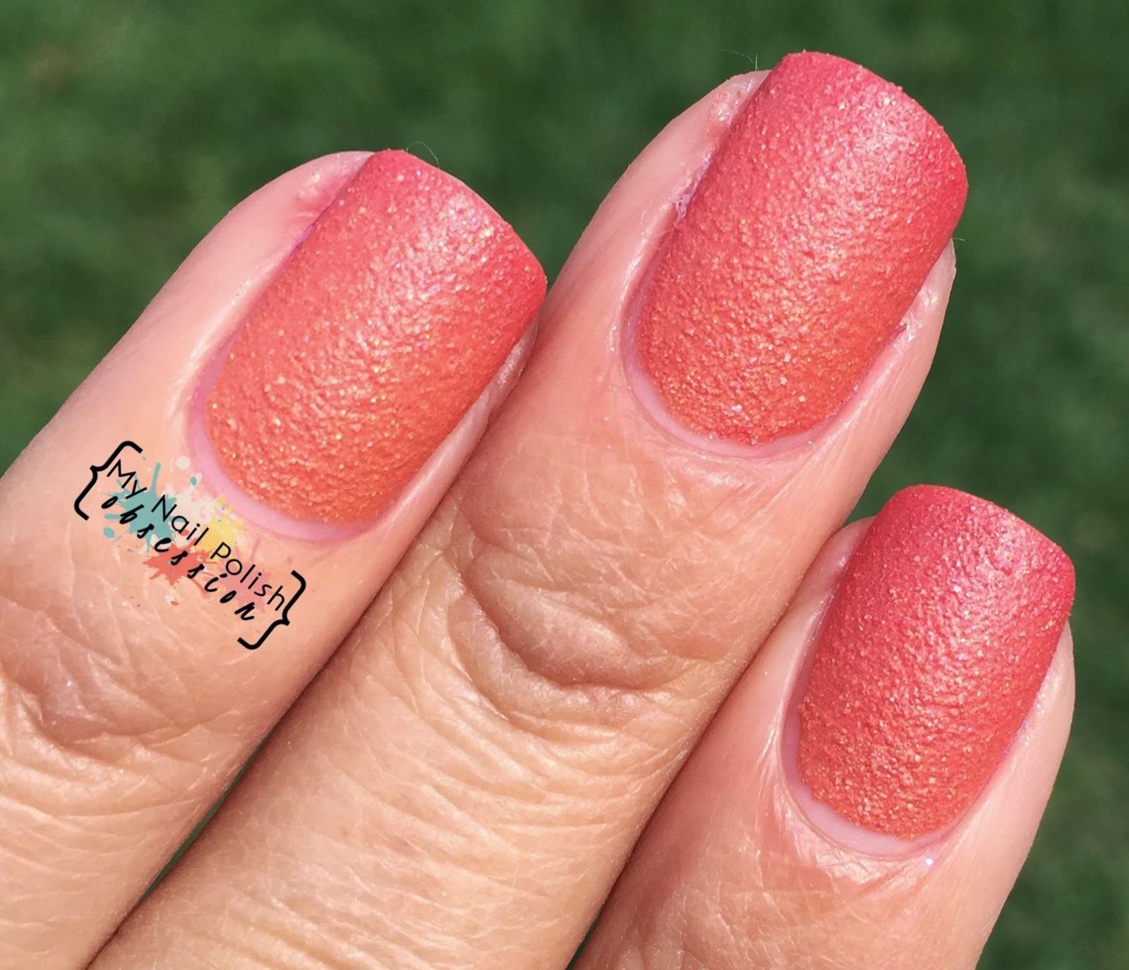 Superficially Colorful Lacquer Tequila Sunrise