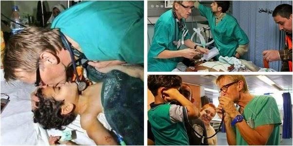Luahan Hati Seorang Doktor Sukarela Dari Norway Bertugas Di Gaza