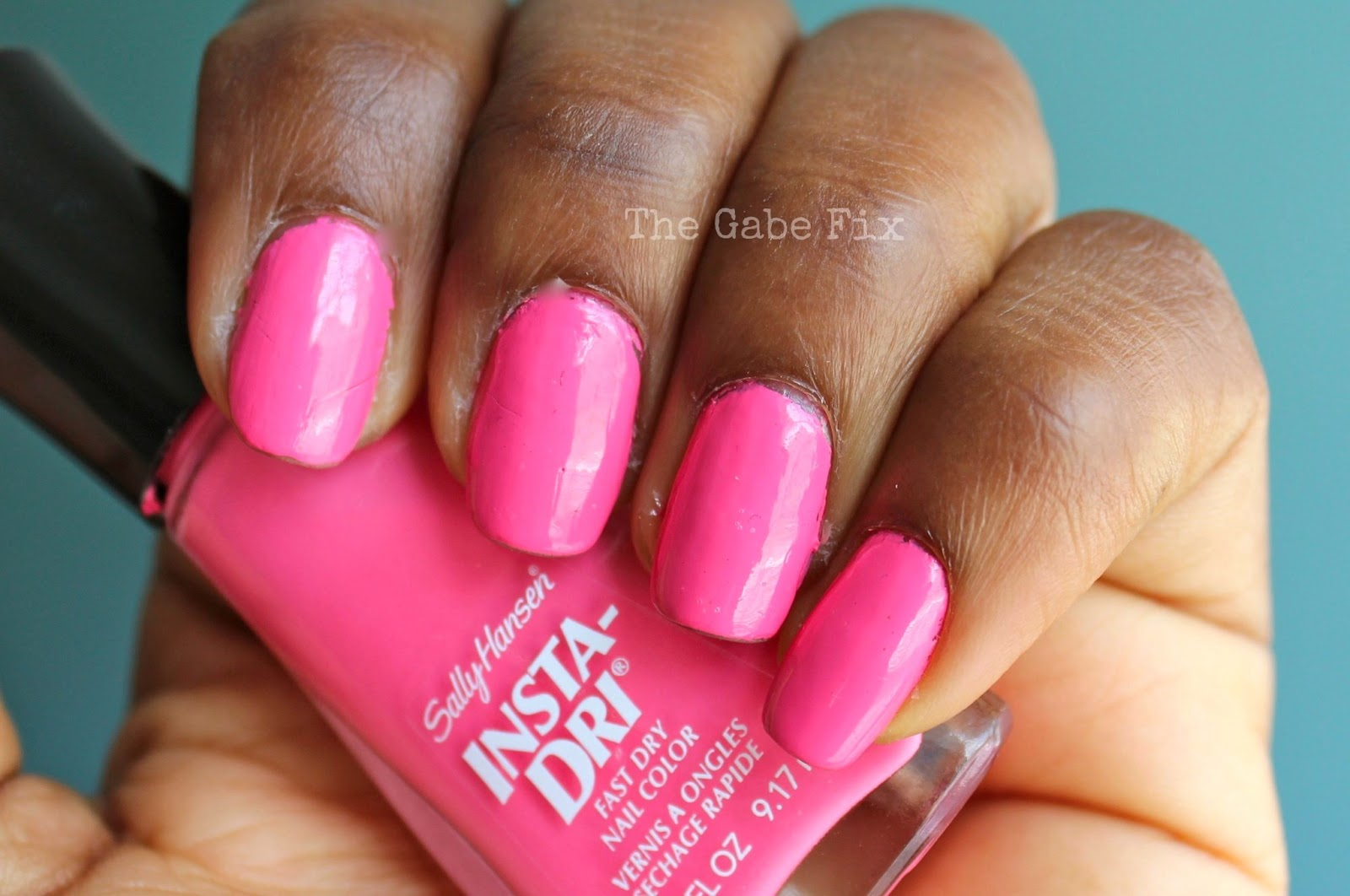 Manicure Monday - Fuchsia Flare - The Gabe Fix by Gabrielle Flowers