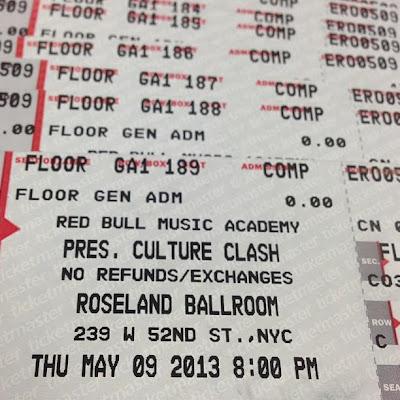 clash free ticket