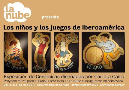 Los niños y los juegos de Iberoamérica