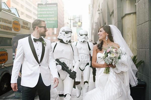 حفل زفافك مستوحى من فيلم حرب النجوم