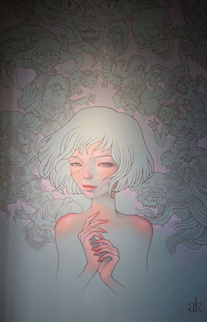 Green Pear Diaries, arte urbano, Museo de Arte de Long Beach, Vitality and Verve, Audrey Kawasaki