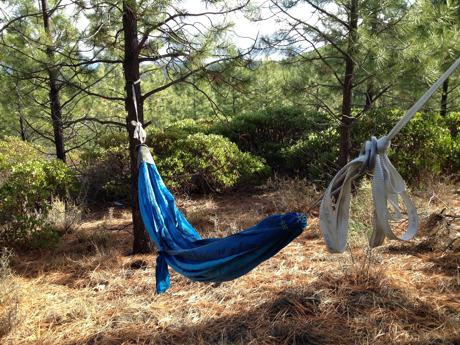 after a little bit of practice you should be able to set up your hammock in about two minutes  for a more  fortable rest lay in your hammock at a     she treads outdoors    hangin u0027 in there     the basics of the hammock  rh   shetreadsoutdoors
