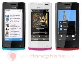 Nokia 500 : Gesit dengan Prosesor 1 GHz