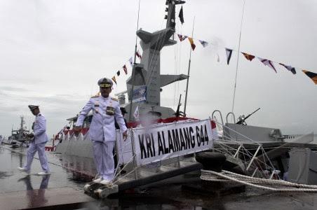 TNI AL Kembali Menerima Tiga Kapal Perang Produksi Dalam Negeri