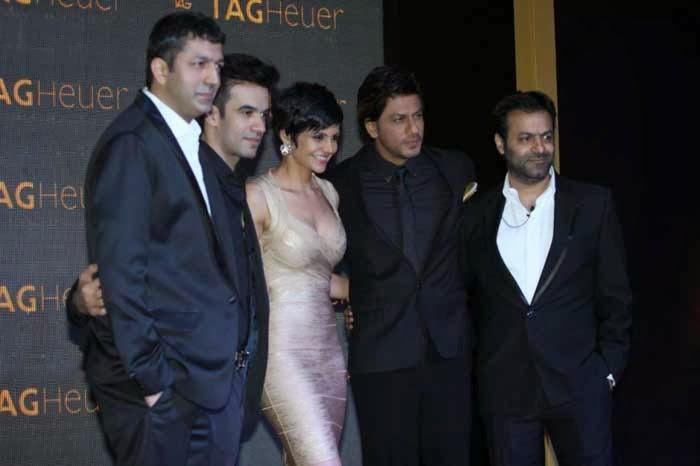 Kunal Kohli, Punit Malhotra, Madira Bedi, Shah Rukh Khan and Tarun Mansukhani