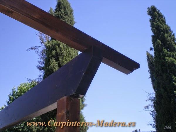 Pergolas de madera madrid carpinteria de madera empresa de carpinteria de madera - Carpinteria de madera madrid ...