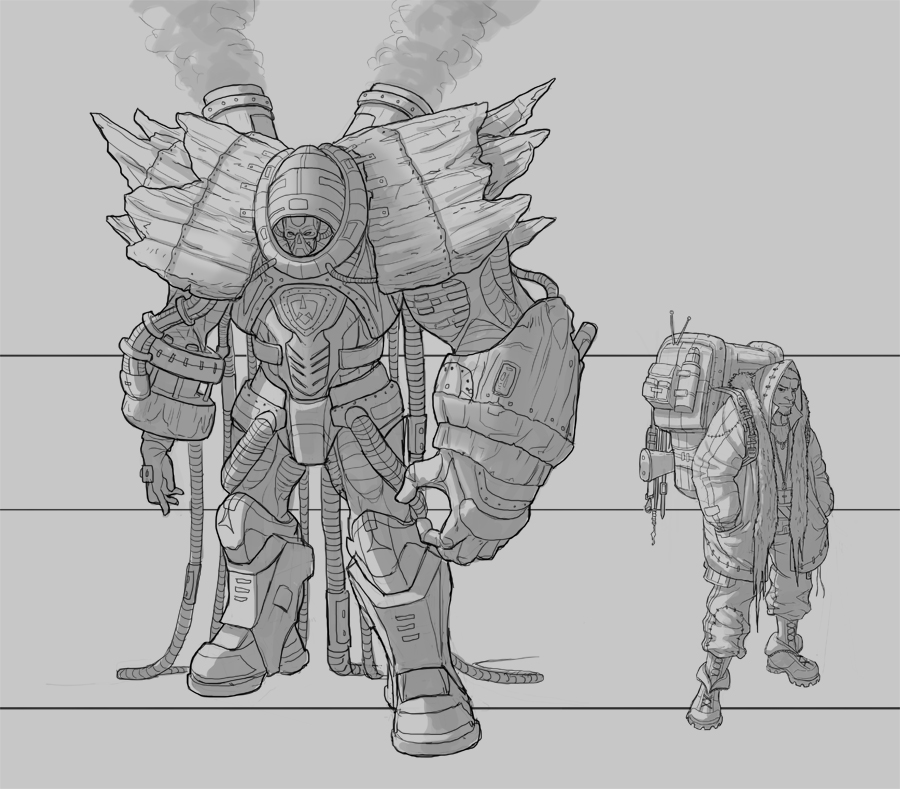(available)Concept Artist - Chrarcters & Environments