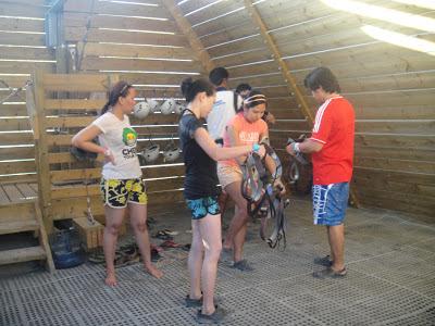 Wadi Adventure preparation at airpark