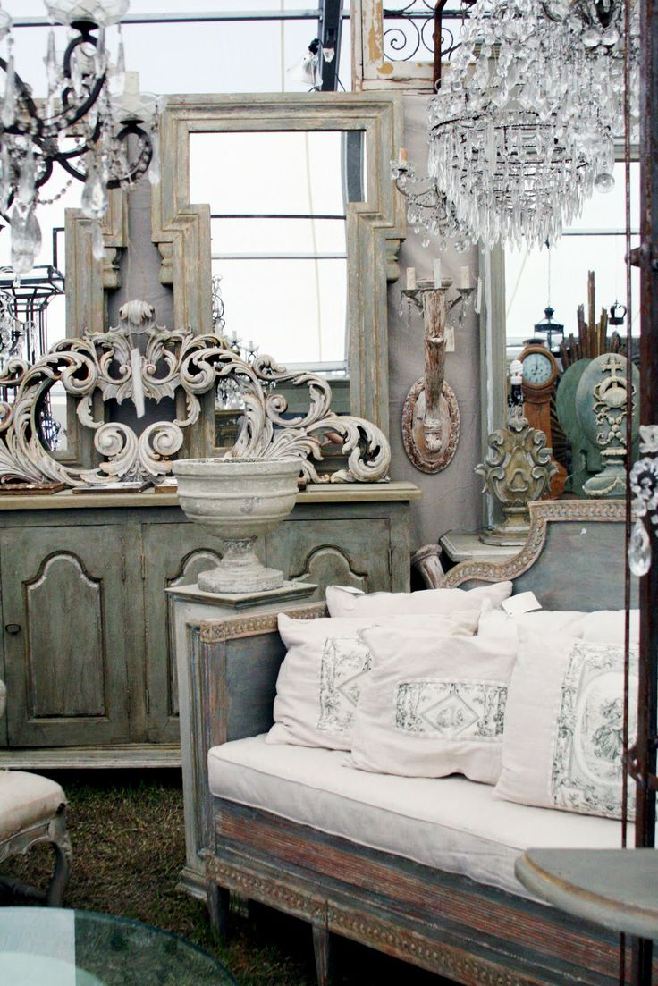 French Farmhouse Retail Store Interior Design
