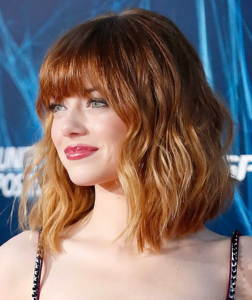hair crush: HOW TO COPY EMMA STONE'S NEW BOB