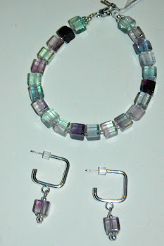 Rainbow Florite - It's Hip to be Square!