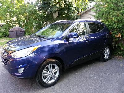 Notre nouvelle voiture: La Hyundai Tucson 2013