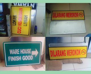 Percetakan Sign Board