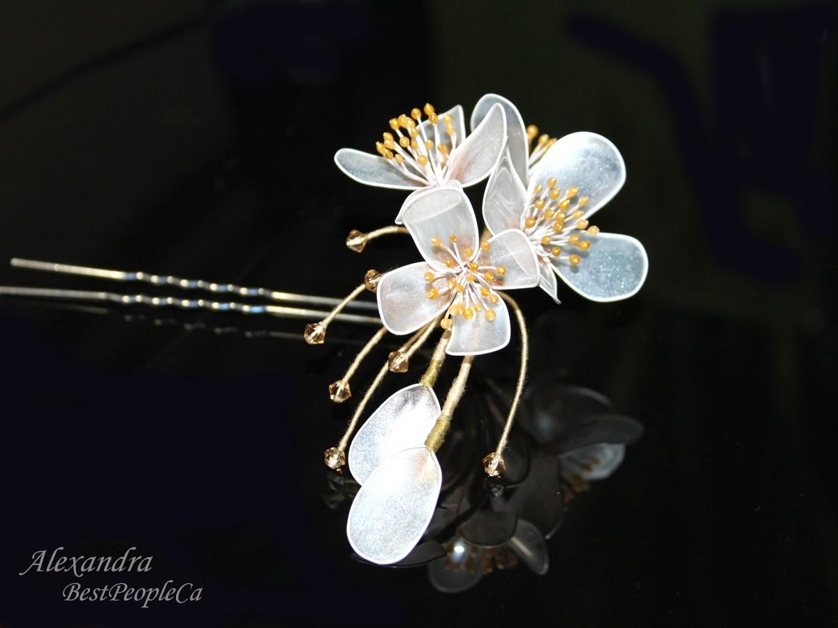 Hairpin handmade Jasmine
