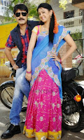 Kamna_jethmalani_half_saree_Hunter_telugu_movie