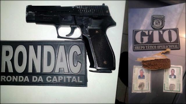 Assaltante é preso pela Guarda Municipal de Aracaju portando réplica de pistola