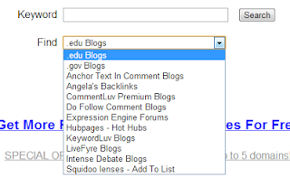 how to find .edu websites for backlinks