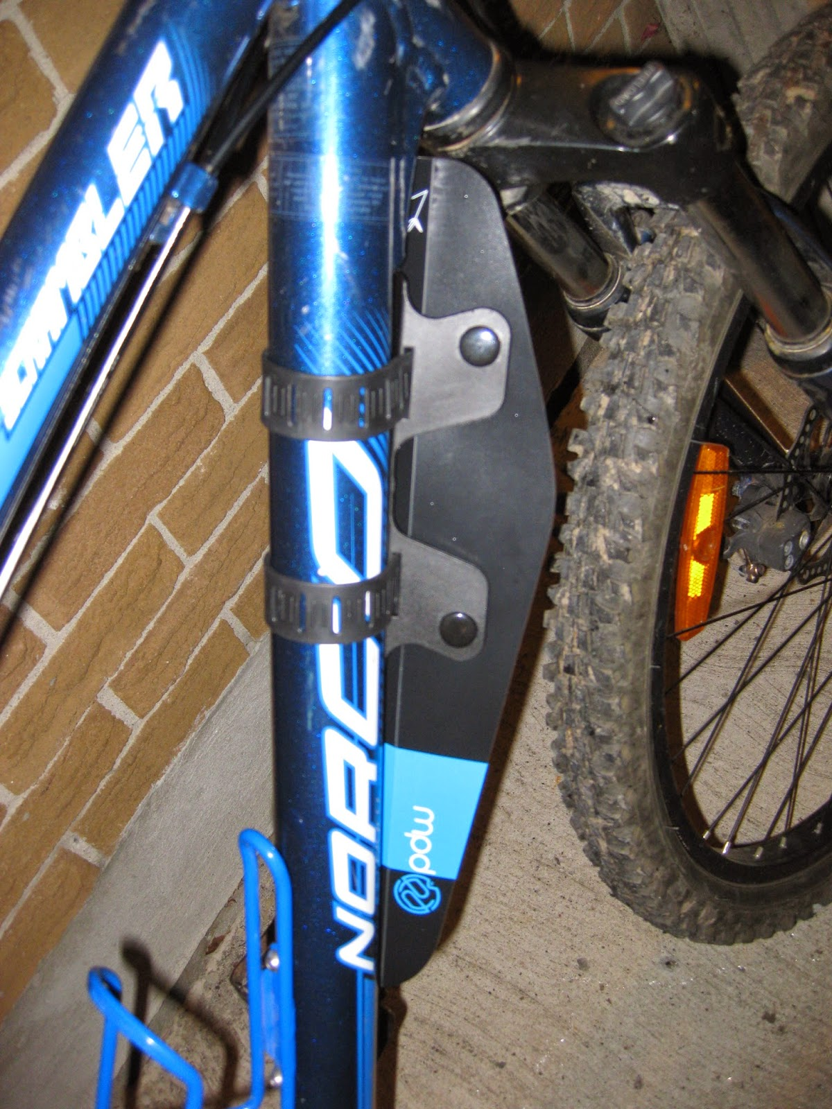 The front fender on my icebike.