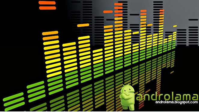 androlama Music Volume EQ uygulaması