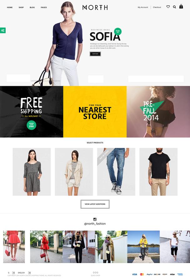 Premium Responsive eCommerce WP Theme