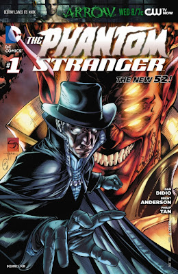Cover B of The Phantom Stranger from DC Comics