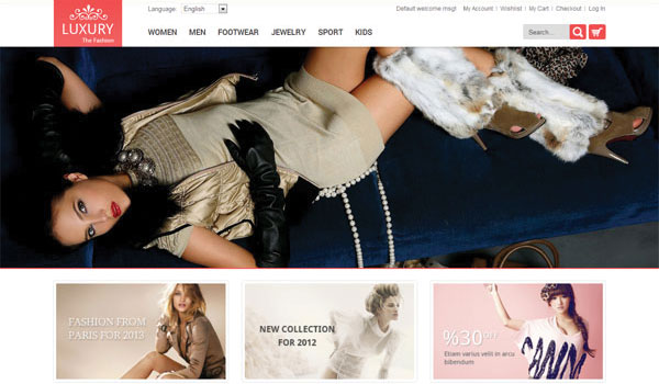 Luxury Responsive Magento Theme