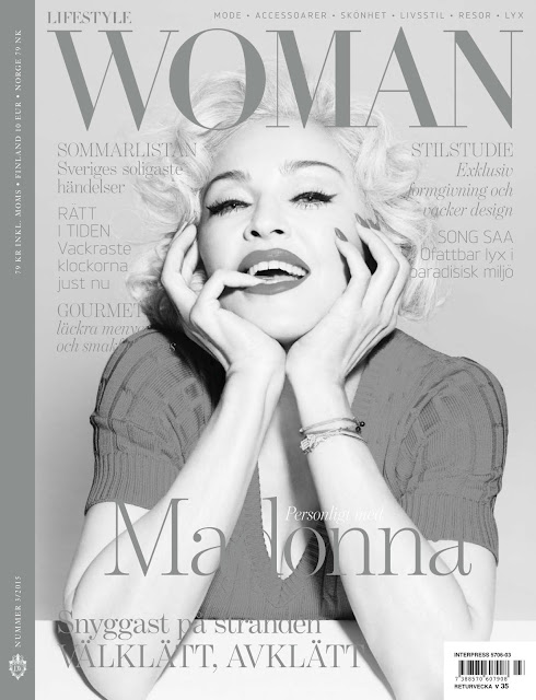 Singer, Actress @ Madonna - StyleWoman Sweden, June 2015