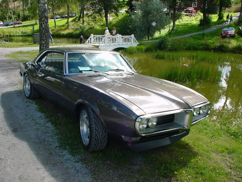 All About Muscle Car: Pontiac 1968 Firebird Coupe-The Legendary ...