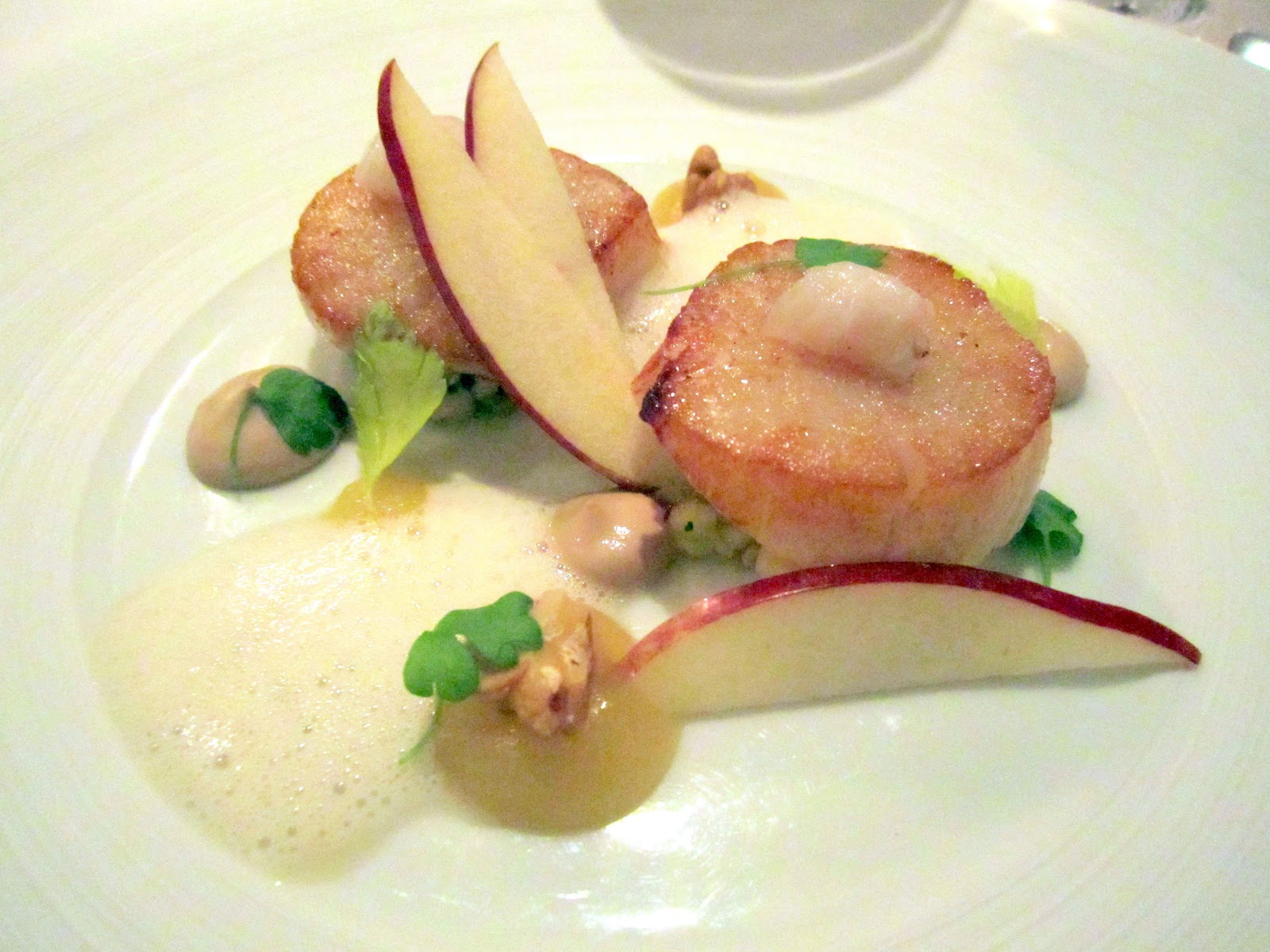 tiny bit of joy: Dining at Gordon Ramsay