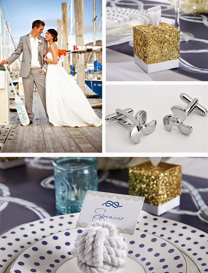 Nautical Wedding Inspiration Board