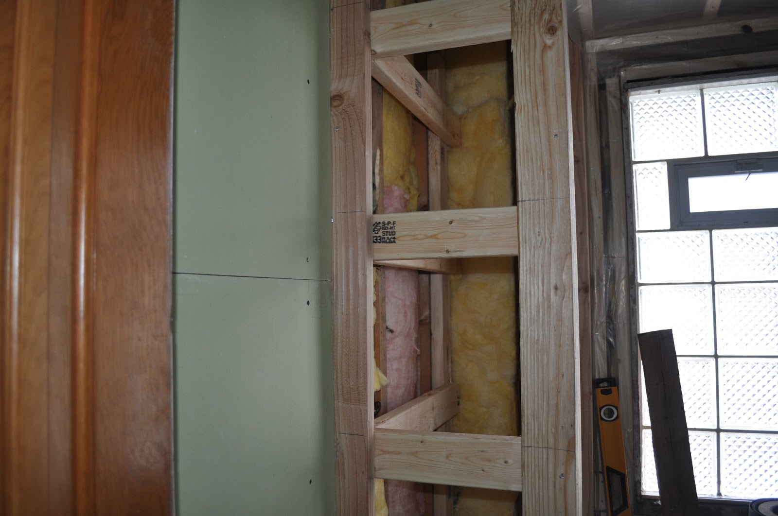 Carri Us Home: DIY Built-in Bathroom Cabinet Part I