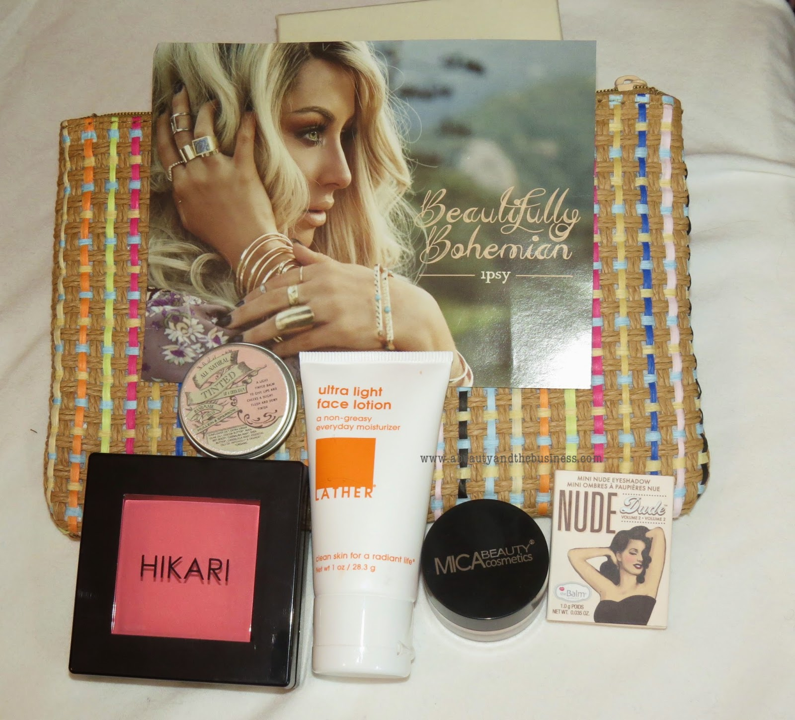 Ipsy, april ipsy, april 2015 ipsy, ipy unboxing, hikari blush, eye base, the balm dude pallete, ipsy  first look,