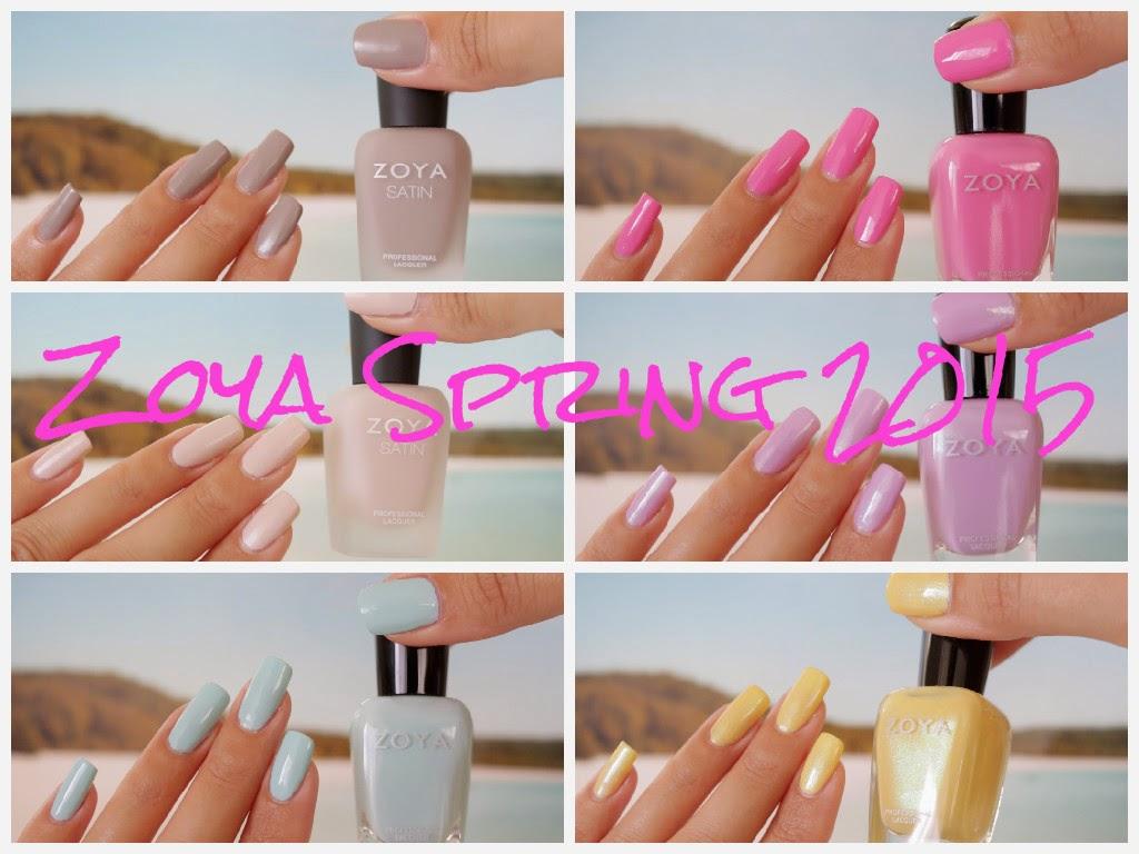 Zoya Spring 2015 Video