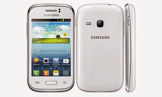 Harga dan Spesifikasi Samsung Galaxy Young S6310 Terbaru 2014