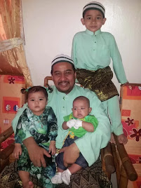 Abah with kiddos