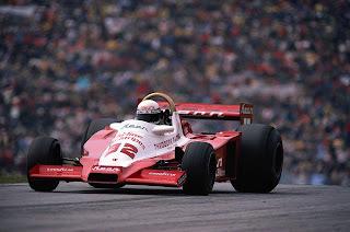 Keke Rosberg -Theodore (Wolf WR3)