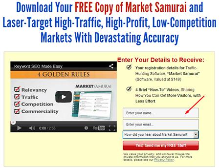 Cara download tool Market Samurai