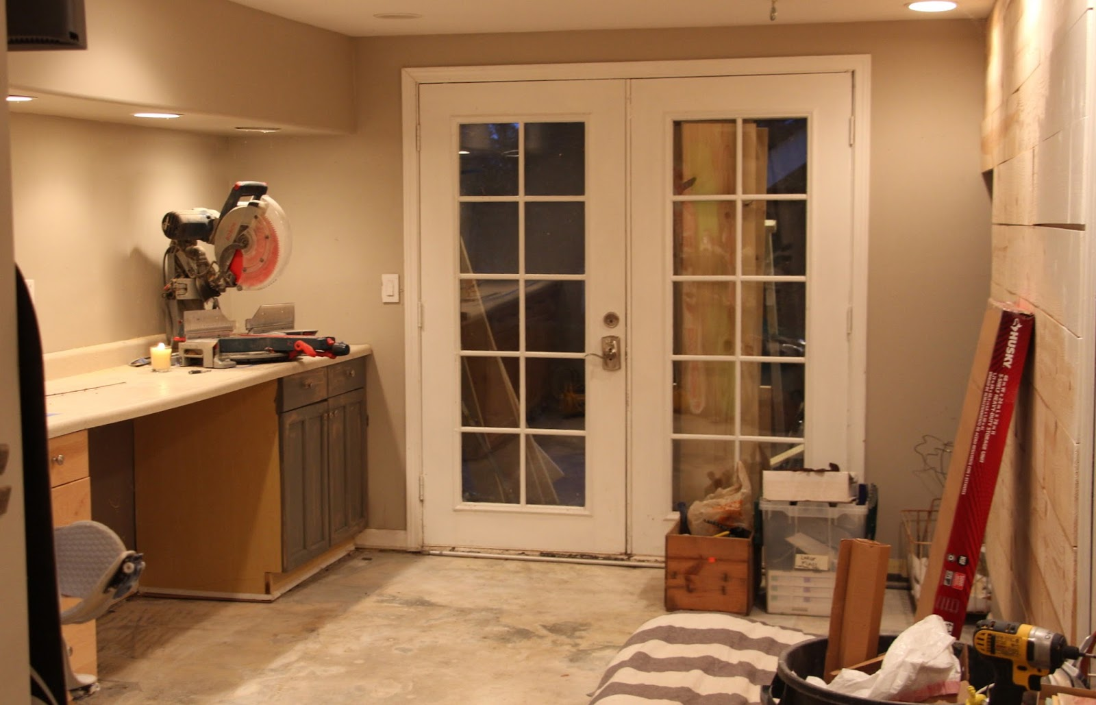 My sweet savannah painting interior doors black - The Plan For Next Week Is To Finish Planking The Walls And Paint Them