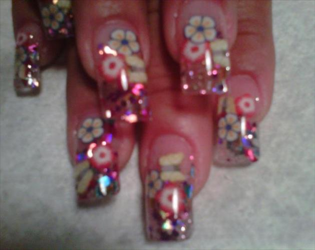 hand painted nails include innovative designs to paint your nails ...