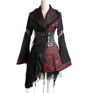 imagens de modelos de vestidos góticos