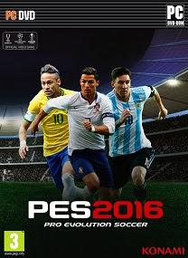 Pro Evolution Soccer 2016-RELOADED FOR PC TERBARU cover 1
