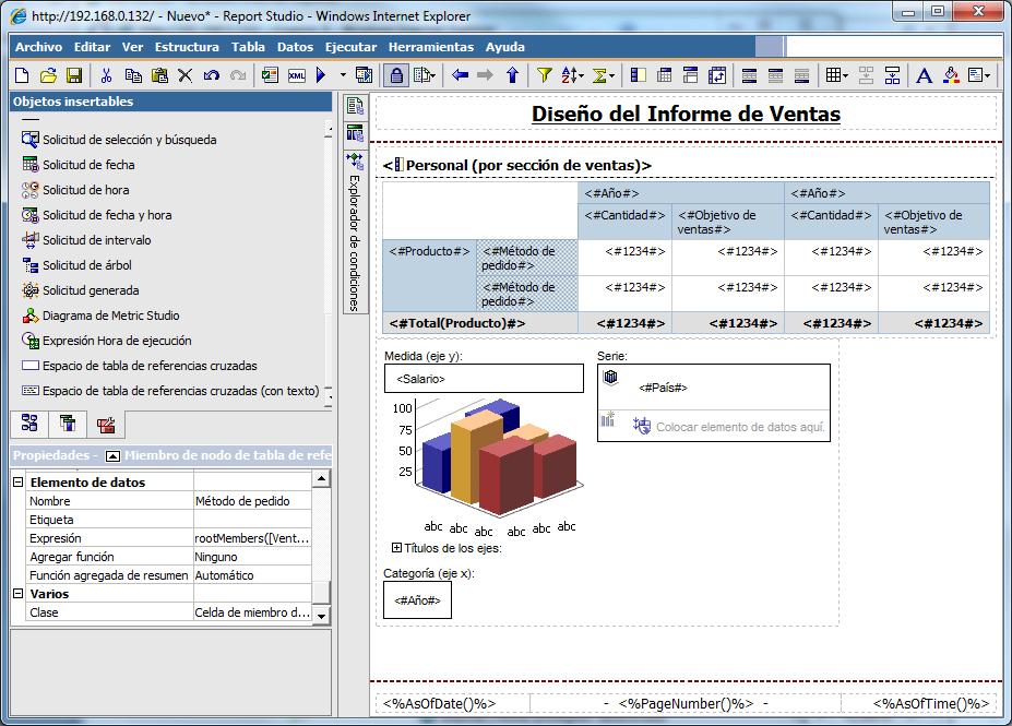 Cognos report developer sample resume