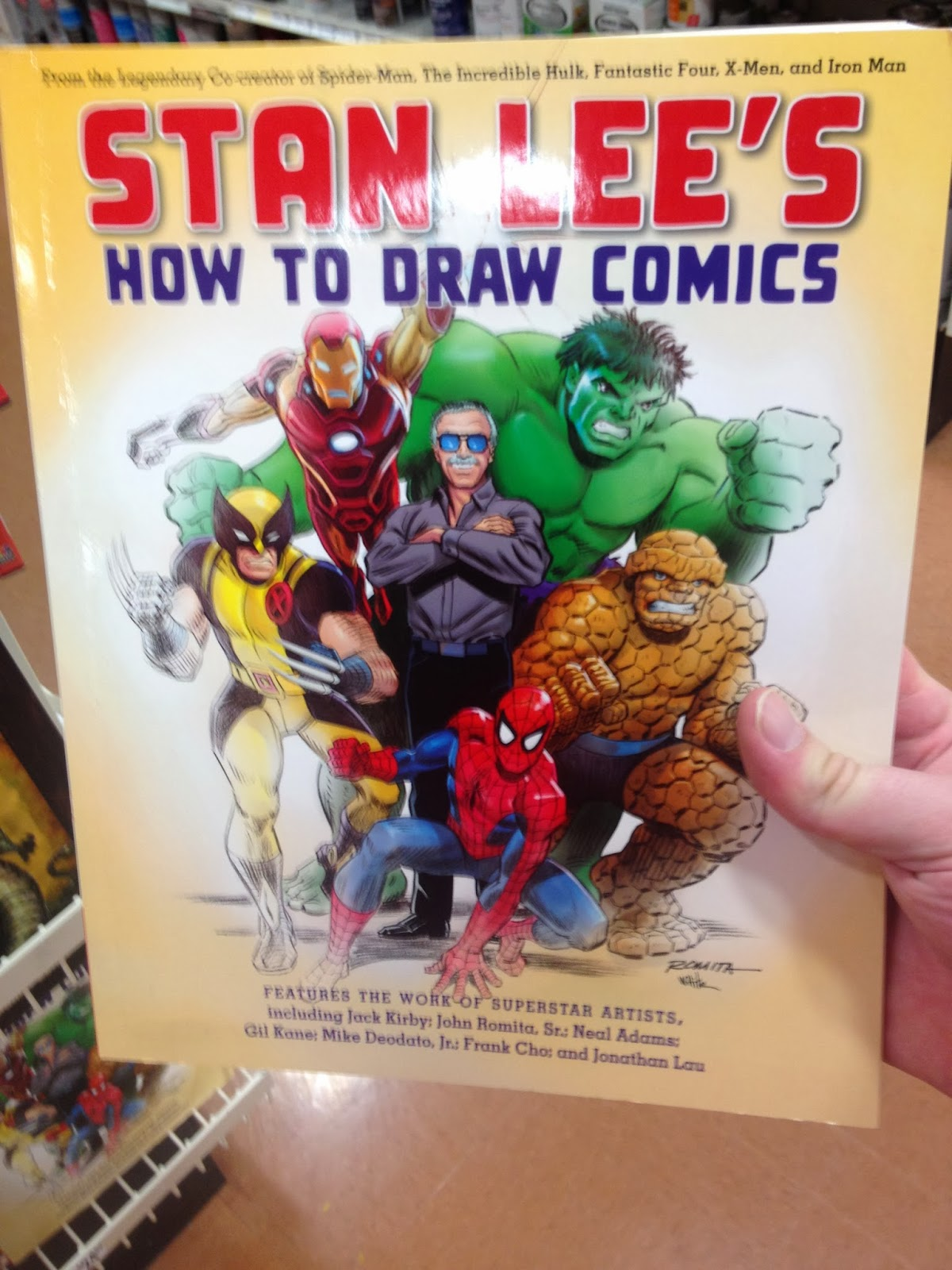 how to draw like a comic book