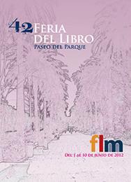 Cartel de la 42 Feria del Libro de Málaga
