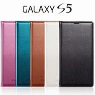 เคส-Galaxy-S5-รุ่น-เคสหนัง-PU-Leather-มีซีลกันน้ำ