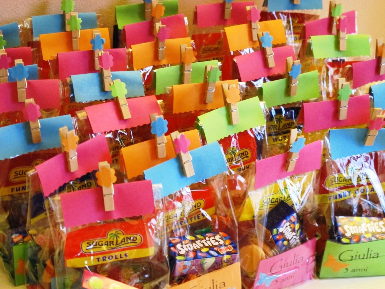 abbastanza Angolino di Liana: Sacchetti colorati per caramelle OX92